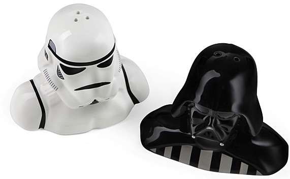 star wars salt pepper shakers