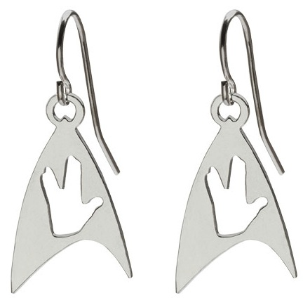 Star Trek Vulcan Salute Earrings