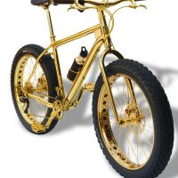 Bicycle Made of 24K Gold Costs a Million Bucks