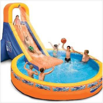 The Plunge Water Slide And Pool Craziest Gadgets
