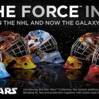 Star Wars Hockey Goalie Masks by Bauer