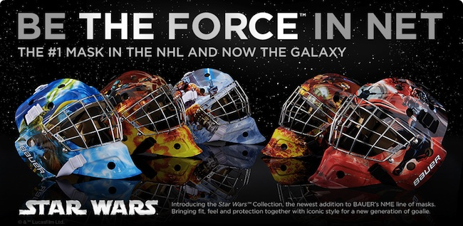 bauer star wars hockey masks