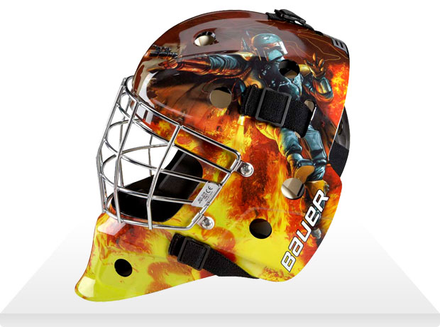 boba fett hockey mask
