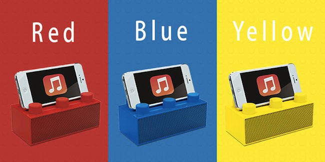 bricks speaker colors
