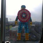 Captain America: Post-It Style