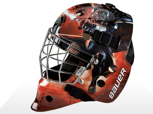 darth vader hockey mask