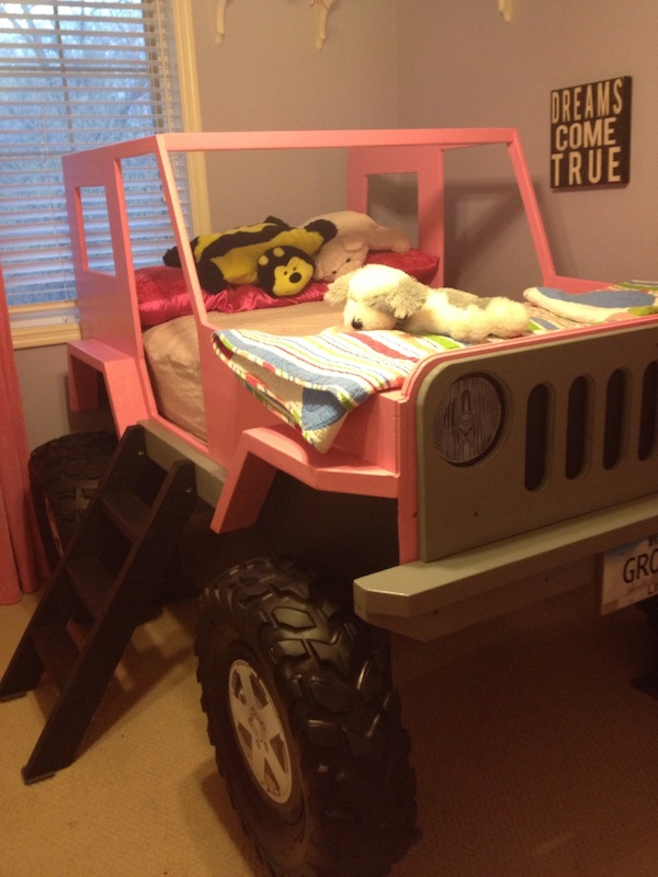 Jeep Bed Side