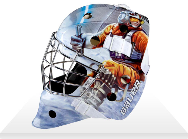 luke skywalker hockey mask