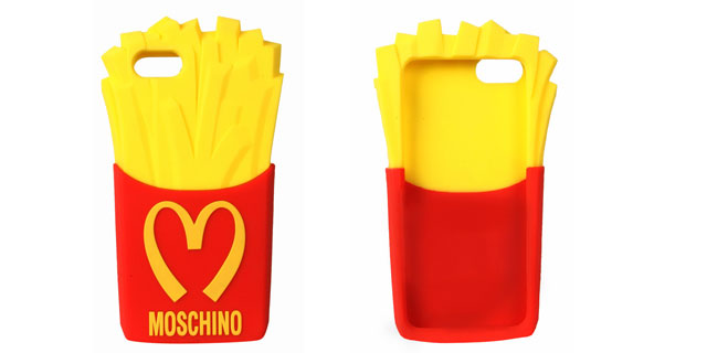 moschino french fry case