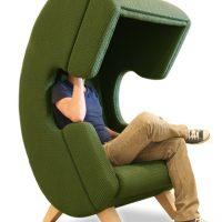 Chair Shaped like a Phone