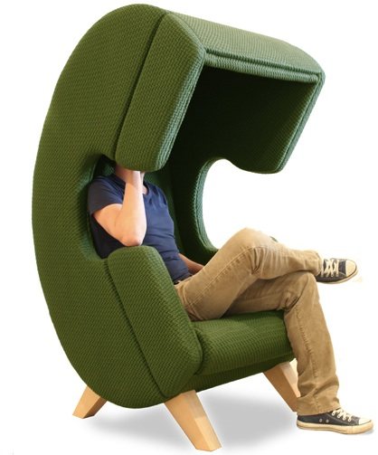 phone shaped chair