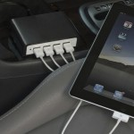 Charge 4 USB Devices at Once...In Your Car