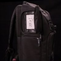 three prong backpack