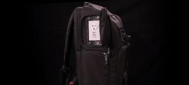 three prong backpack
