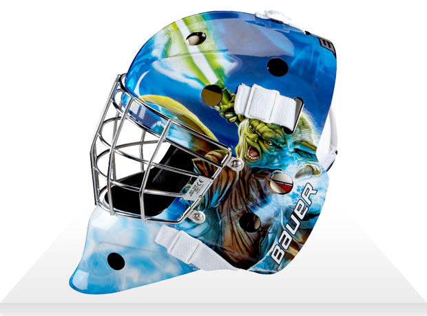 yoda hockey mask