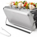 Briefcase BBQ Grill: Grilling Like a Bond Villain
