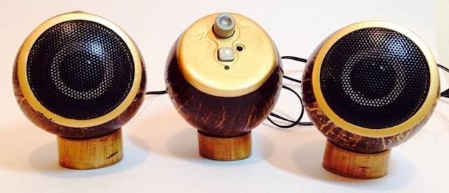 coconut speakers