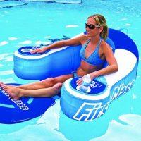 first class pool lounger