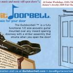 GuitDoorbell Plays Guitar Notes When You Open a Door
