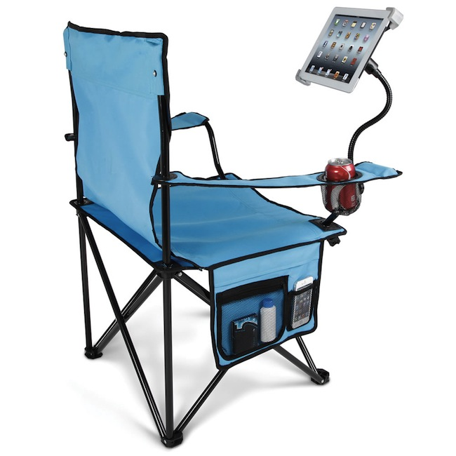 ipad camping chair