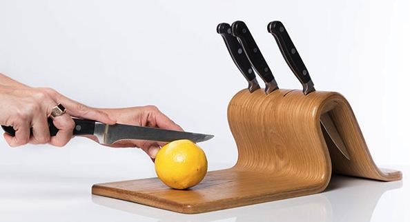 knifeblock cutting board