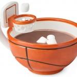 Mug with a Basketball Hoop