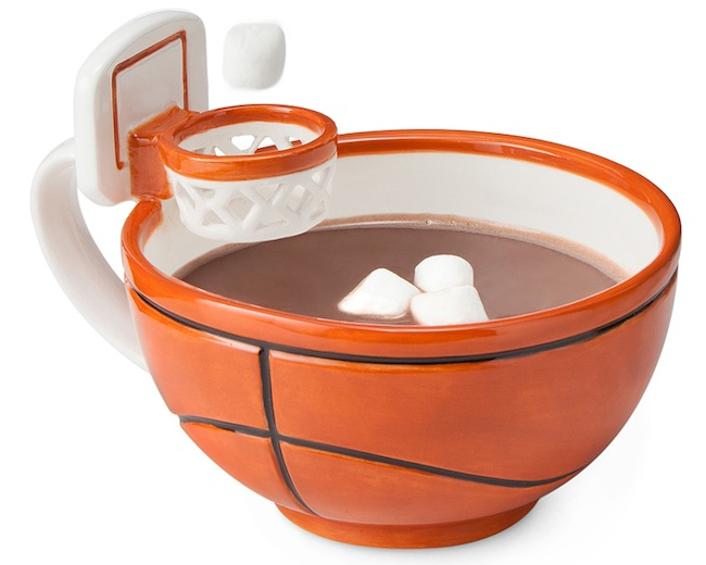 Mug with a Basketball Hoop