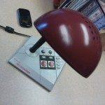NES Advantage Turned Desk Lamp