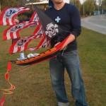 3-D Pirate Ship Kite