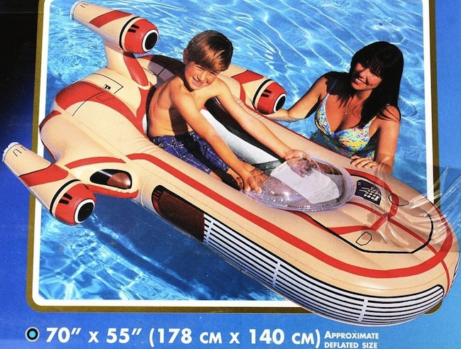star wars pool float