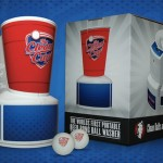 Clean Cup Portable Beer Pong Ball Washer