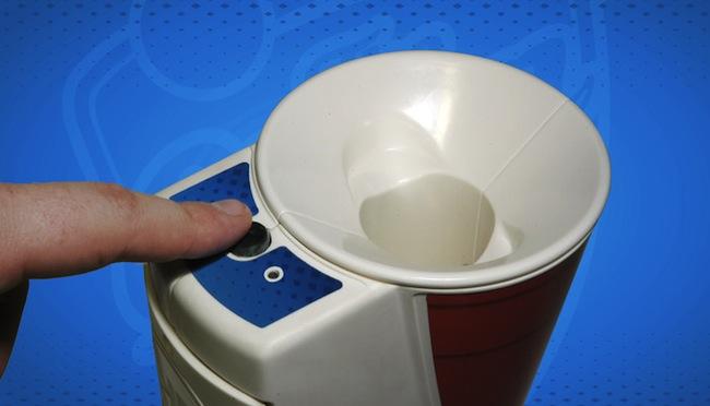 Clean Cup Portable Beer Pong Ball Washer Craziest Gadgets