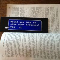 geeky bookmark