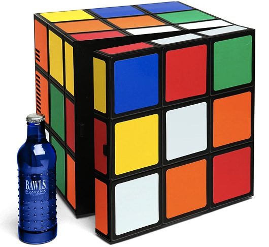 Rubik's Cube Mini-Fridge