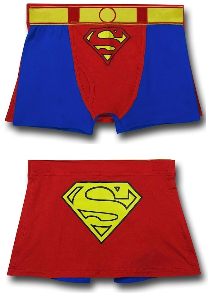 Superman Caped Boxer Briefs -Craziest Gadgets