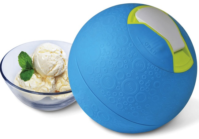Kickball Ice Cream Maker Really Kicks Ice