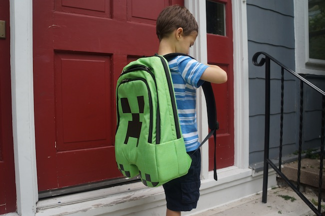 Review: Minecraft Creeper Backpack