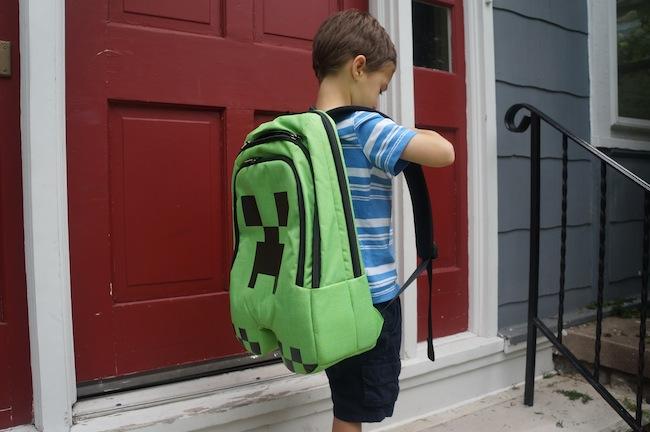 Review  Minecraft Creeper Backpack -Craziest Gadgets 998d6260e3b77