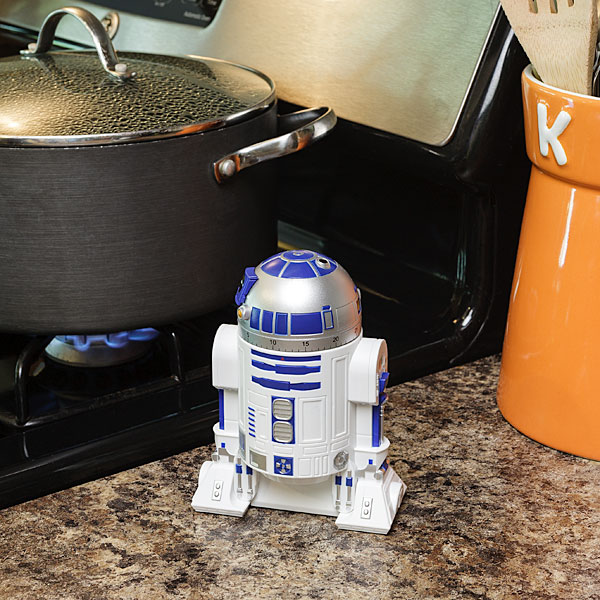 r2d2 kitchen timer in use
