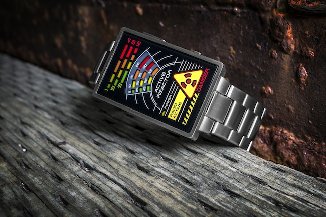 radioactive watch