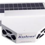 solar power car ventilator