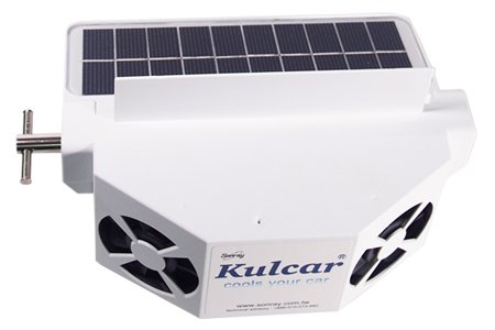 solar power car ventilator