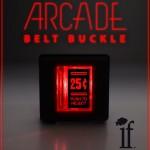 Light Up Arcade Belt Buckle
