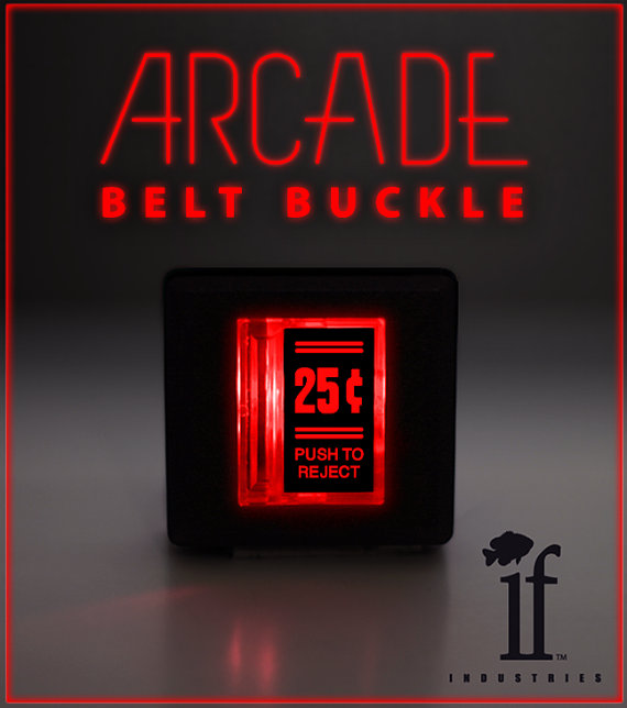 arcade belt buckle Pinboard