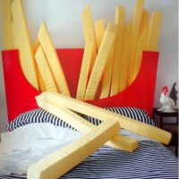 french fries bed