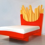 Supersize Your Dreams in a French Fries Bed