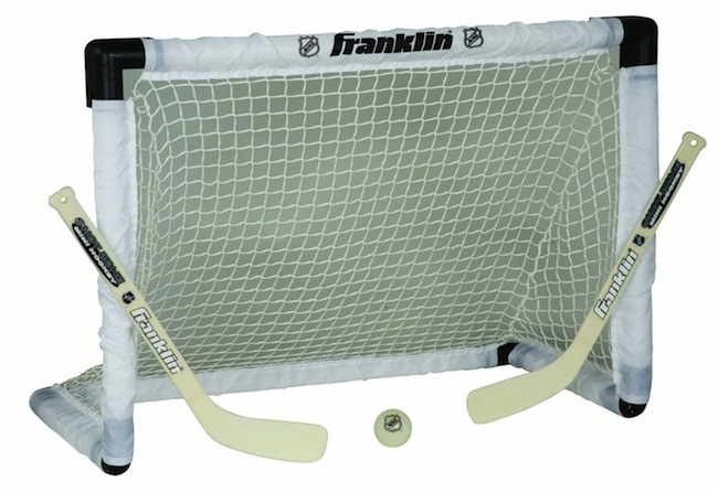 light up hockey net