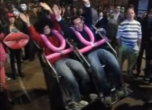 Amazing Roller Coaster Costume