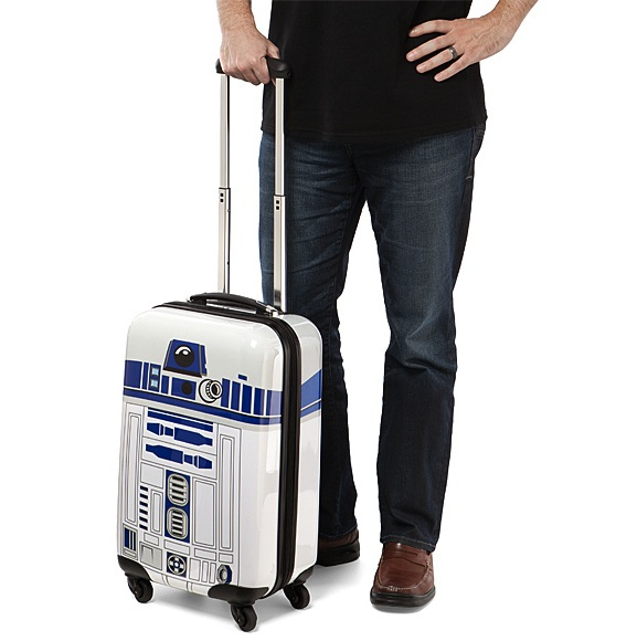 r2d2 carryon luggage