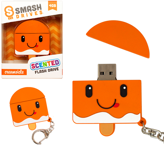 creamsicle scented flash drive